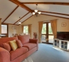 Self Catering Cornwall | Crocus Lodge Cottage Eden Valley Holiday Park Lanlivery